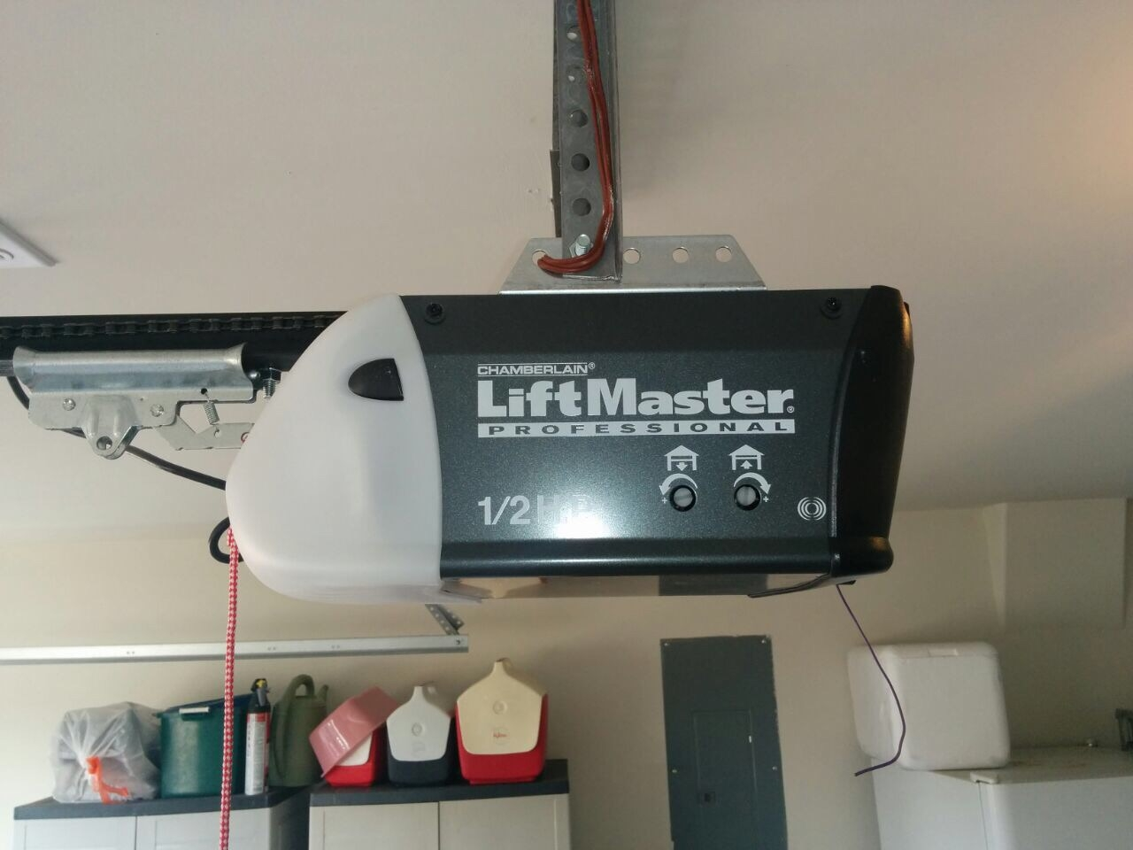 Liftmaster Garage Door Opener Chain Adjustment Dandk
