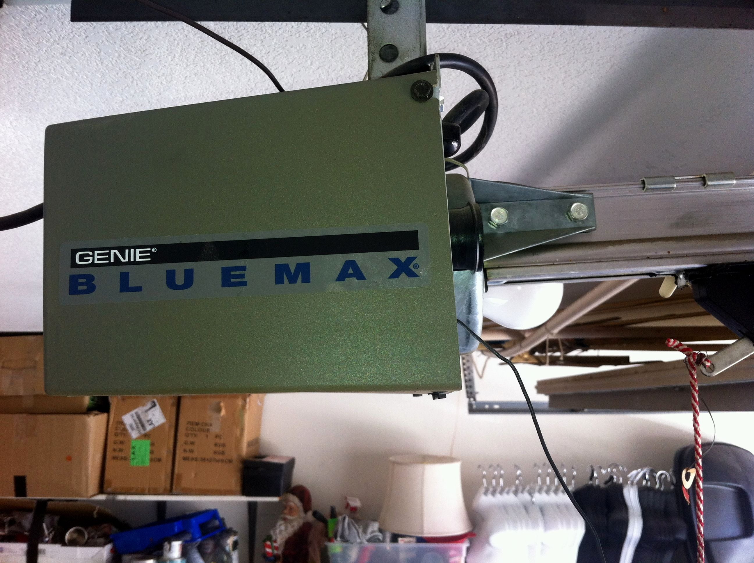 Genie pro max garage door opener troubleshooting home for Genie garage door